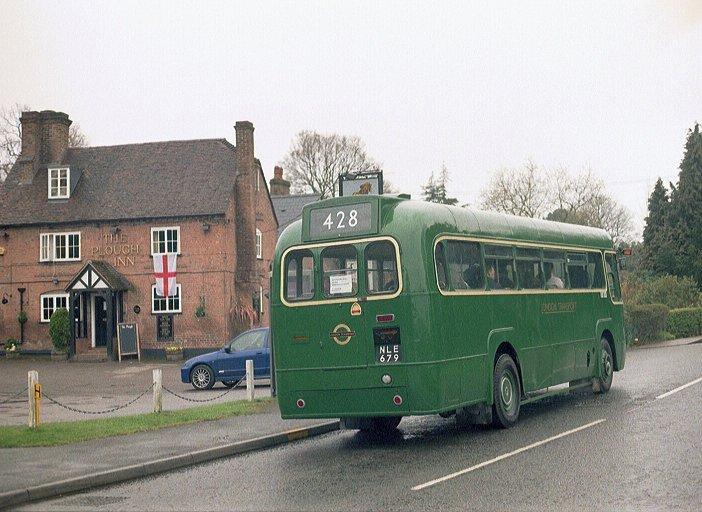 Ian S Bus Stop East Grinstead Running Day