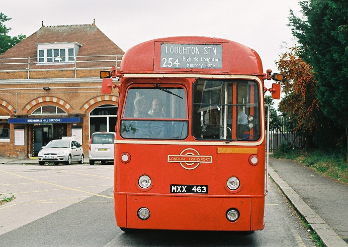 Ian S Bus Stop Loughton 2007