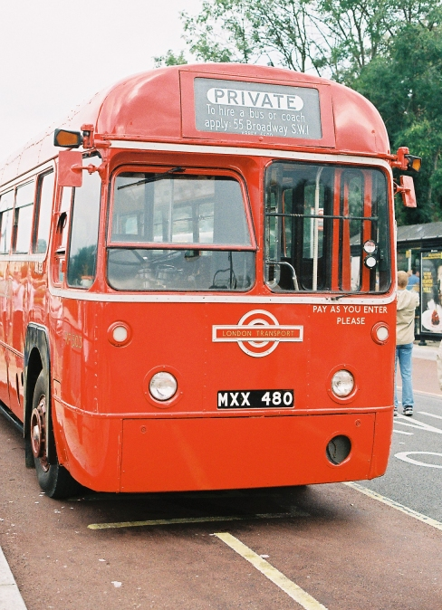 Ian S Bus Stop Loughton 2007