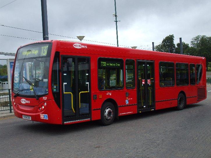Ian S Bus Stop Mans For Metrobus