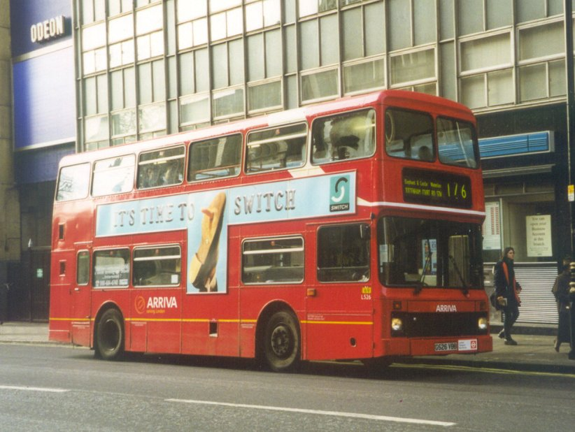 Ian S Bus Stop London S Leyland Olympians
