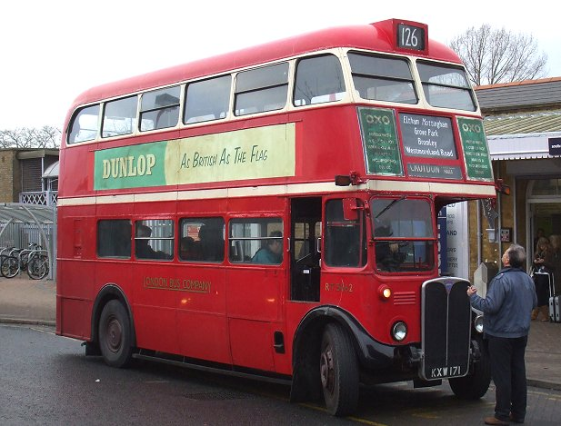 Kentish Bus No.SIB1282 Beckenham 1996 Bus Photo