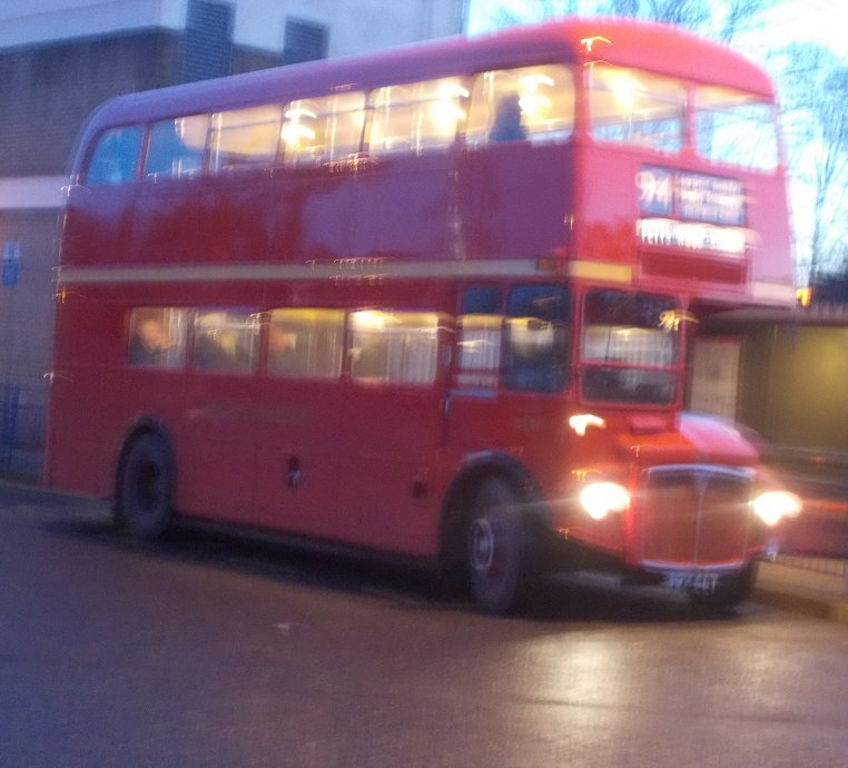 IANS BUS STOP Bromley Mini Running Day 7th December 2014